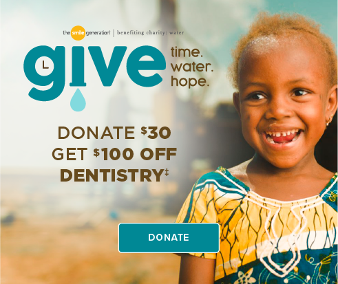 Donate $30, Get $100 Off Dentistry - Village Smiles Dentistry and Orthodontics